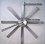 Series 5C15 Aluminum Manually Adjustable Fan